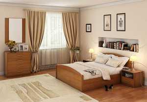 Кровать Аккорд с подъёмным механизмом