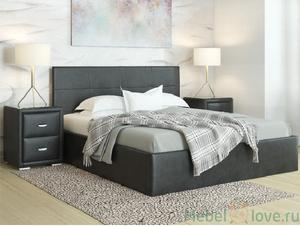 Кровать Alba Черный