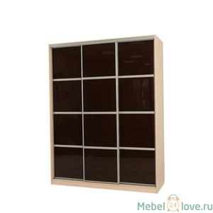 Шкаф-купе Бассо тип 2 коричневый