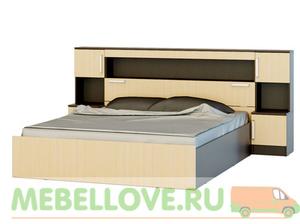 Бася кровать 1,6 с надстройкой
