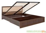 Кровать с подъемным механизмом 1,6 Беатрис М11 (орех)