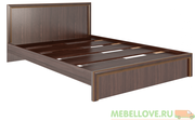 Кровать 1,6 Беатрис М6 (орех)