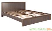 Кровать 1,6 Беатрис М7 (орех)