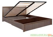 Кровать с подъемным механизмом 1,6 Беатрис М8 (орех)