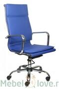 Кресло руководителя CH-993 blue
