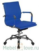 Кресло руководителя CH-993-Low blue