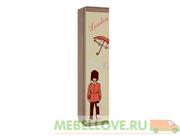 Шкаф комбинированный 1-створчатый Челси