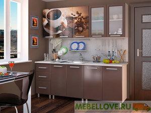 Кухня Люкс шоколад 2,0м