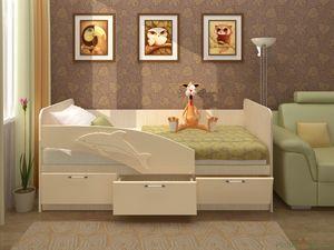 """Кровать детская """"Дельфин"""" 80*160"""