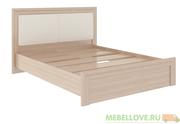 Кровать с мягким изголовьем и настилом М31 Глэдис 1,6