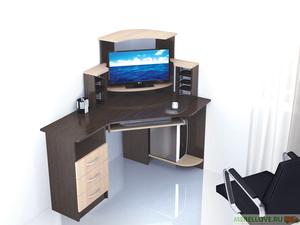 Стол компьютерный угловой Грета-7