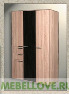 Шкаф 3-створчатый Ивушка (MRM)