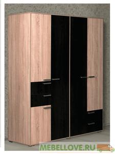Шкаф 4-створчатый Ивушка (MRM)
