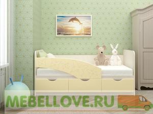 """Кровать детская """"Бабочки"""" 80*160"""