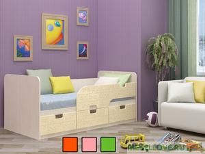 """Детская кровать """"Пазл"""" 80*186"""