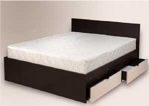 Кровать с 2-мя ящиками (MRM)