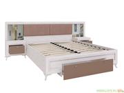 Саванна М06 Кровать с ортопедическим основанием и тумбами