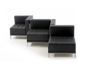 Диван офисный Лекса (модуль кресло)