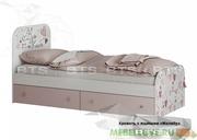 Малибу кровать с ящиками КР-10
