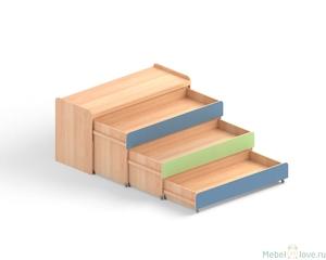 Кровать трехъярусная МД 28