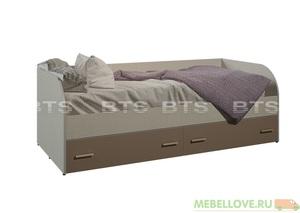 """""""Морис"""" кровать с ящиками КР-01"""