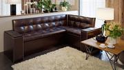 Скамья угловая со спальным местом Остин (коричневая)