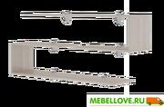 Полки навесные Остин (2 шт) М18