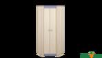Угловой шкаф для одежды «Индиго»