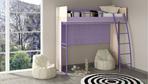 Кровать-чердак «Индиго» ПМ-145.01