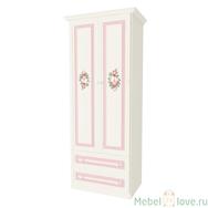 Шкаф 2-створчатый с ящиками Алиса
