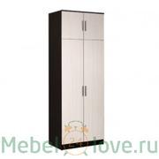 Шкаф 2-створчатый с перегородкой Модерн
