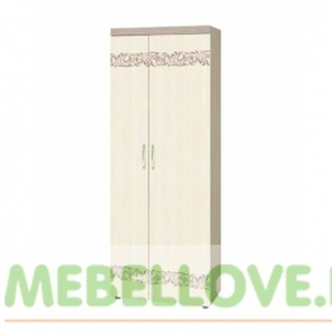 Шкаф двухдверный многофункциональный 39.02 Мэри