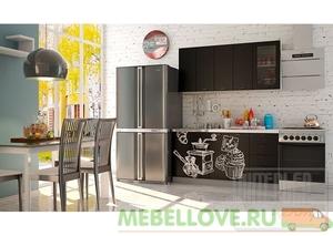 Кухня София COFFEE TIME черный 1,6