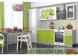 Кухня София зеленые яблоки 1,6