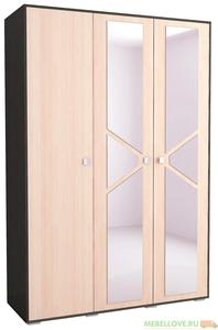 Шкаф 3-створчатый Ненси-2