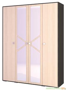 Шкаф 4-створчатый Ненси-2
