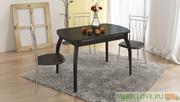 Стол обеденный на деревянных ножках Милан СМ-203.21.15