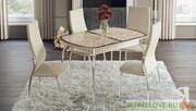 Стол обеденный раздвижной «Сидней» (белфорт) СМ-219.01.01