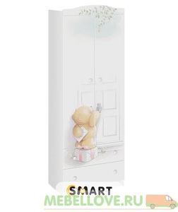 Тедди шкаф комбинированный
