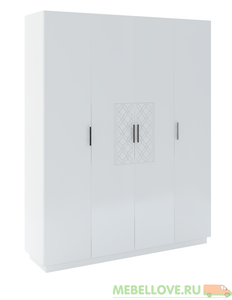 Шкаф 4-дверный Тиффани М-21