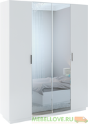 Шкаф 4-дверный с зеркалами Тиффани М-22