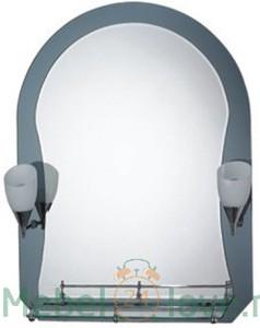 F625 зеркало со светильником